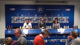 Die PK mit Hannes Wolf und Tomas Oral