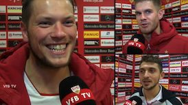 Die Interviews nach VfB - 1860