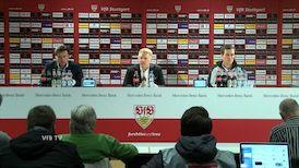 Die PK mit Hannes Wolf und Kosta Runjaic