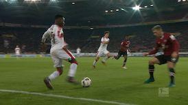 1. Halbzeit: VfB Stuttgart - 1. FC Nürnberg