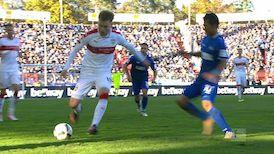 Highlights: Karlsruher SC - VfB Stuttgart