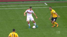 2. Halbzeit: SG Dynamo Dresden - VfB Stuttgart
