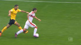 1. Halbzeit: SG Dynamo Dresden - VfB Stuttgart
