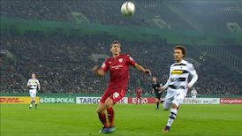 2. Halbzeit: Borussia Mönchengladbach - VfB Stuttgart