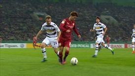 1. Halbzeit: Borussia Mönchengladbach - VfB Stuttgart