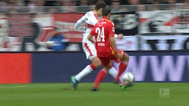 1. Halbzeit: VfB Stuttgart - Union Berlin