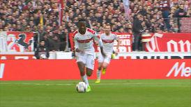 1. Halbzeit: VfB Stuttgart - SV Sandhausen