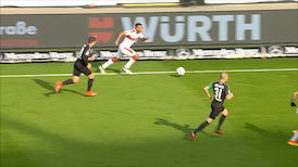Highlights: VfB Stuttgart - SV Sandhausen