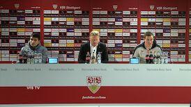 Die PK mit Hannes Wolf und Kenan Kocak