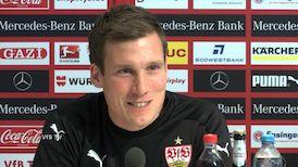 Die Spieltags-PK vor dem Heidenheim-Spiel