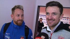 Die Interviews nach dem Heidenheim-Spiel