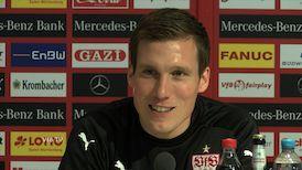 Die Spieltags-PK vor dem Kaiserslautern-Spiel
