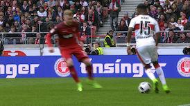 1. Halbzeit: VfB Stuttgart - 1. FC Kaiserslautern
