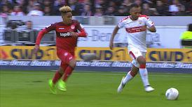2. Halbzeit: VfB Stuttgart - 1. FC Kaiserslautern