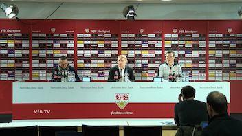 Die PK mit Hannes Wolf und Norbert Meier