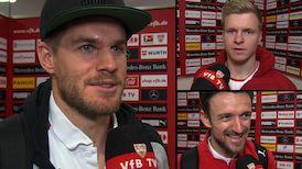 Die Interviews nach dem Kaiserslautern-Spiel