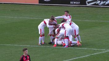 Highlights: SC Freiburg - VfB Stuttgart U17