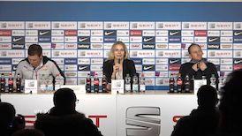 Die PK mit Hannes Wolf und Torsten Lieberknecht