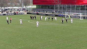 Highlights: VfB Stuttgart U17 - SV Stuttgarter Kickers