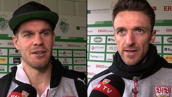 Die Interviews nach dem Spiel in Fürth