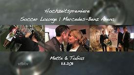 Hochzeitspremiere in der Mercedes-Benz Arena