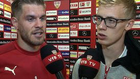 Die Interviews nach dem Dresden-Spiel