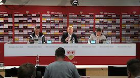 Die PK mit Hannes Wolf und Uwe Neuhaus