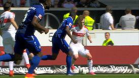 Highlights: VfB Stuttgart - Karlsruher SC