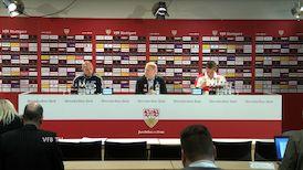 Die PK mit Hannes Wolf und Marc-Patrick Meister