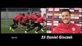 Daniel Ginczek vor dem Bielefeld-Spiel