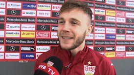 Alexandru Maxim nach dem Bielefeld-Spiel