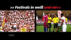 Festivals in weiß und rot