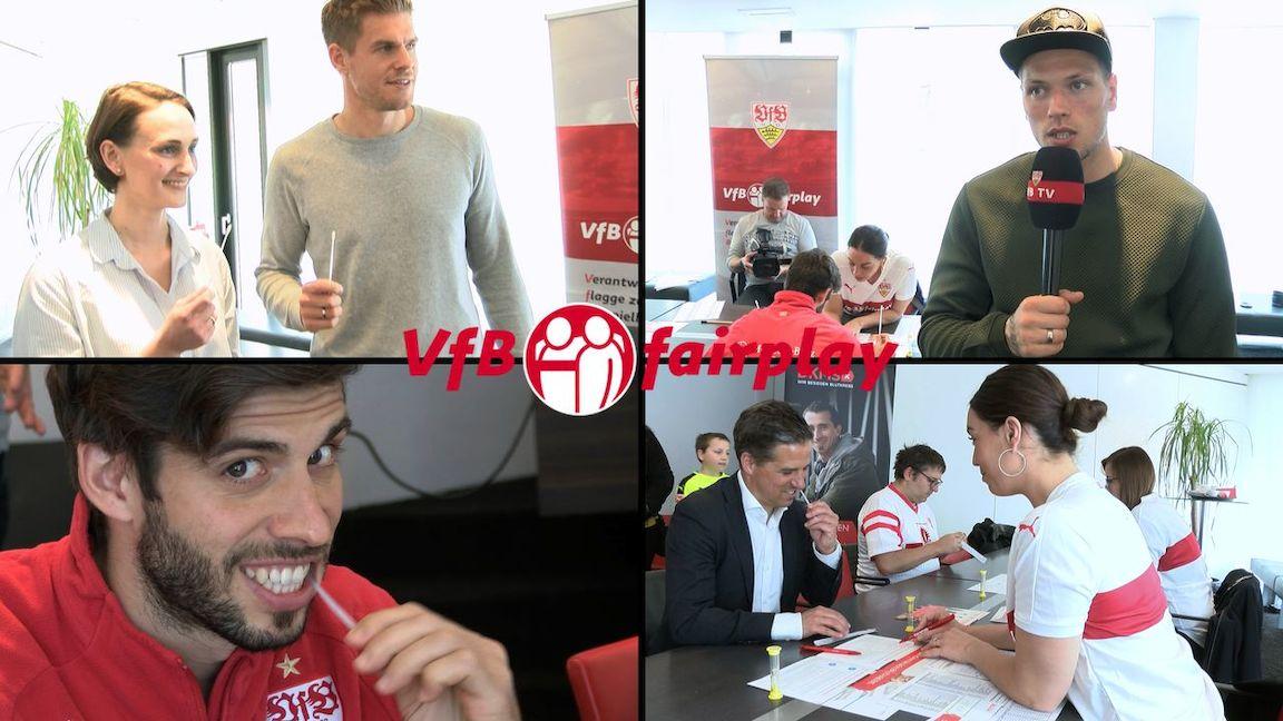 Typisierungsaktion im VfB Clubzentrum
