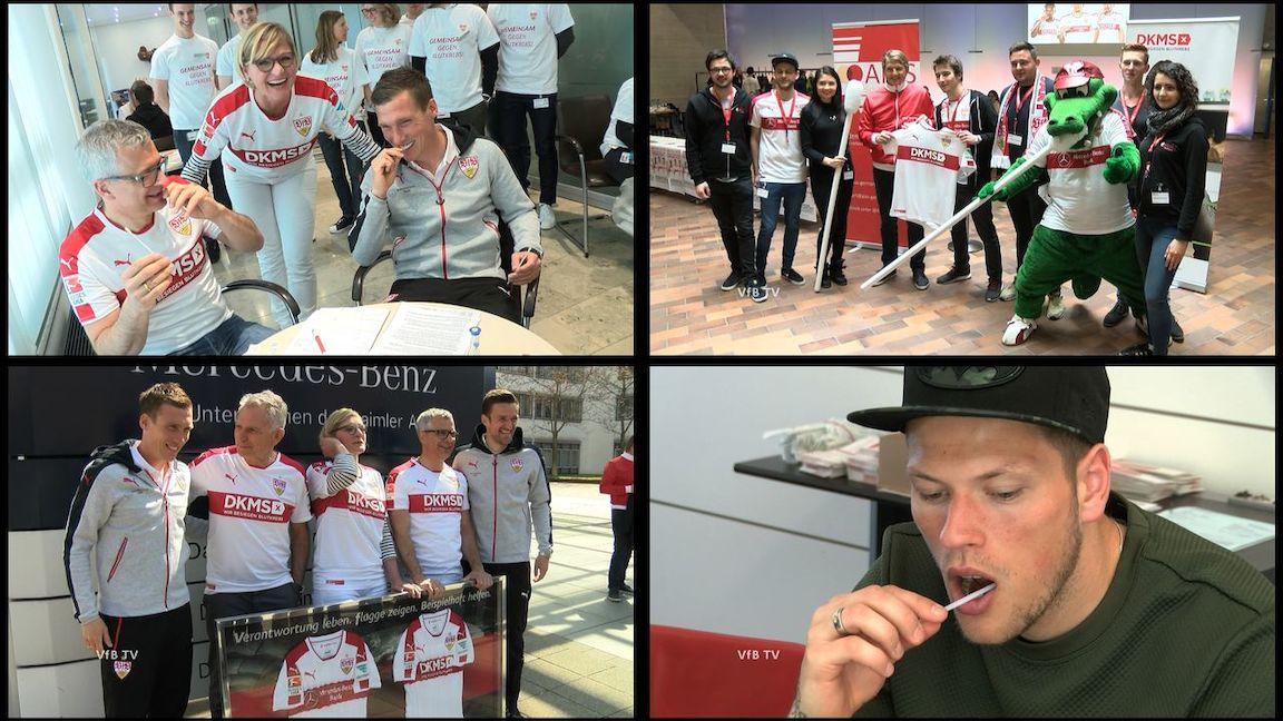 VfBfairplay Spieltag: Gemeinsam gegen Blutkrebs