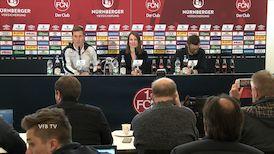 Die PK mit Hannes Wolf und Michael Köllner