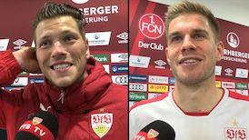 Die Interviews nach dem Nürnberg-Spiel