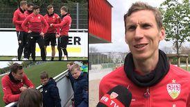 Im Interview: Florian Klein vor dem Aue-Spiel
