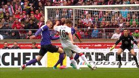 1. Halbzeit: VfB Stuttgart - Aue