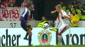Highlights: VfB Stuttgart - Aue