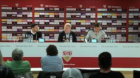 Die PK mit Hannes Wolf und Domenico Tedesco