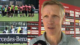 Jan Schindelmeiser vor dem Würzburg-Spiel