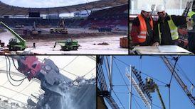 Der Umbau der Mercedes-Benz Arena