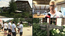 Timo Baumgartl nach der Trainingslager-Ankunft