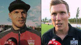 Die Interviews nach dem Test gegen Dresden