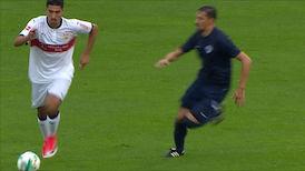 1. Halbzeit: VfB Stuttgart - Kasimpasa Istanbul