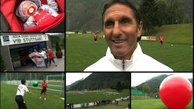 Bruno Labbadia nach dem Training in Längenfeld