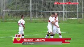 Highlights U19: SV Wehen Wiesbaden - VfB Stuttgart