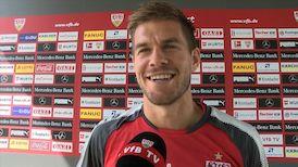 Simon Terodde nach dem Pokalspiel in Cottbus