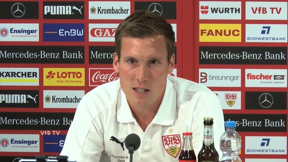 Die Spieltags-PK vor dem Bundesligastart bei Hertha BSC