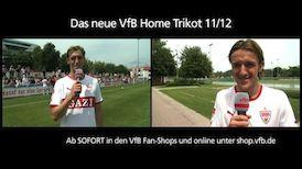 Das neue VfB Home Trikot 2011/2012